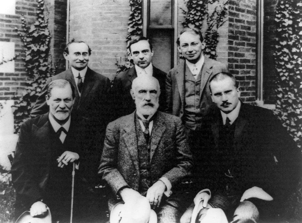 Sigmund-Freud-Carl-Jung-Austrian-psychol