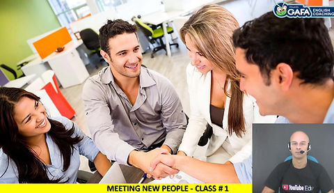 Class 1 - Meeting new people