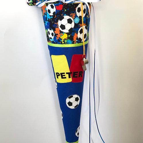 Schultüte Fussball