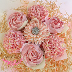 Mixed Blooms - Dusty Pink
