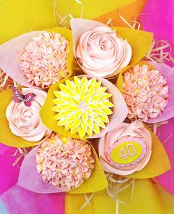 Mixed Blooms - Yellow & Pink