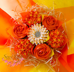 Mixed Blooms - Orange and Yellow