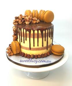 Chocolate Macarons & Popcorns