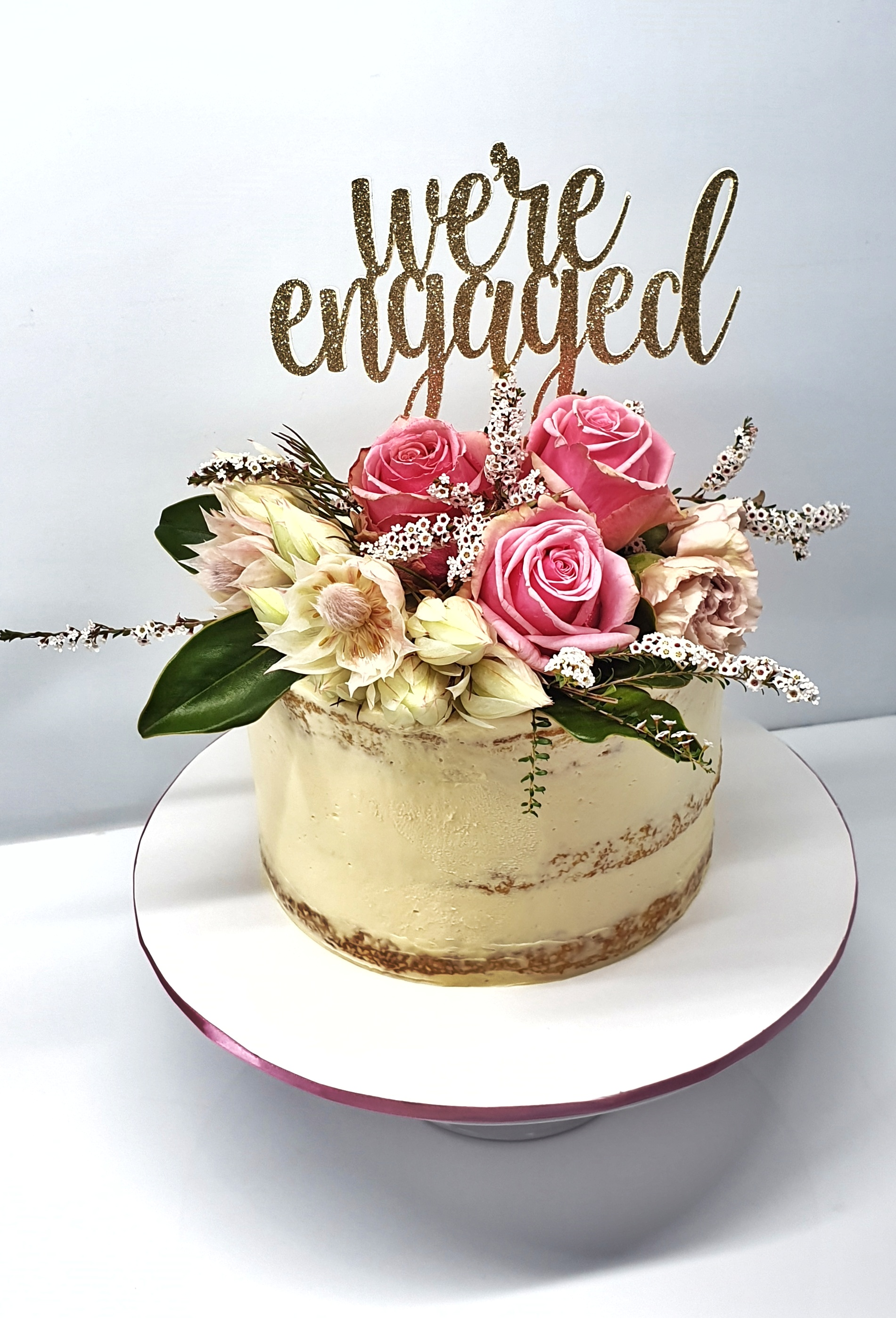 Engagement Floral Beauty