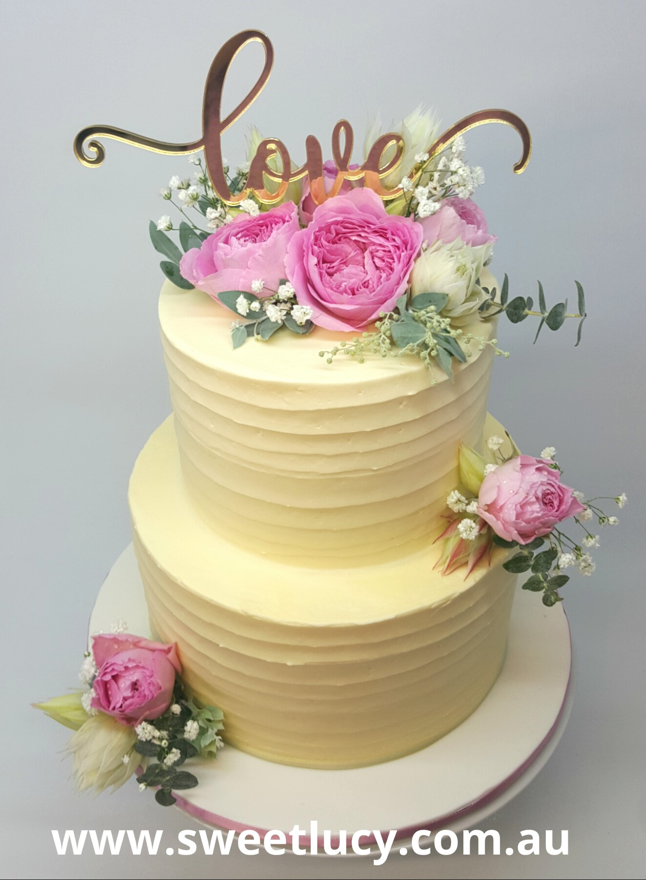 Classic Floral 2 Tier