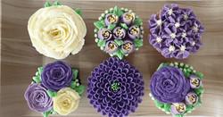 Field of Flowers - Shades of Purple