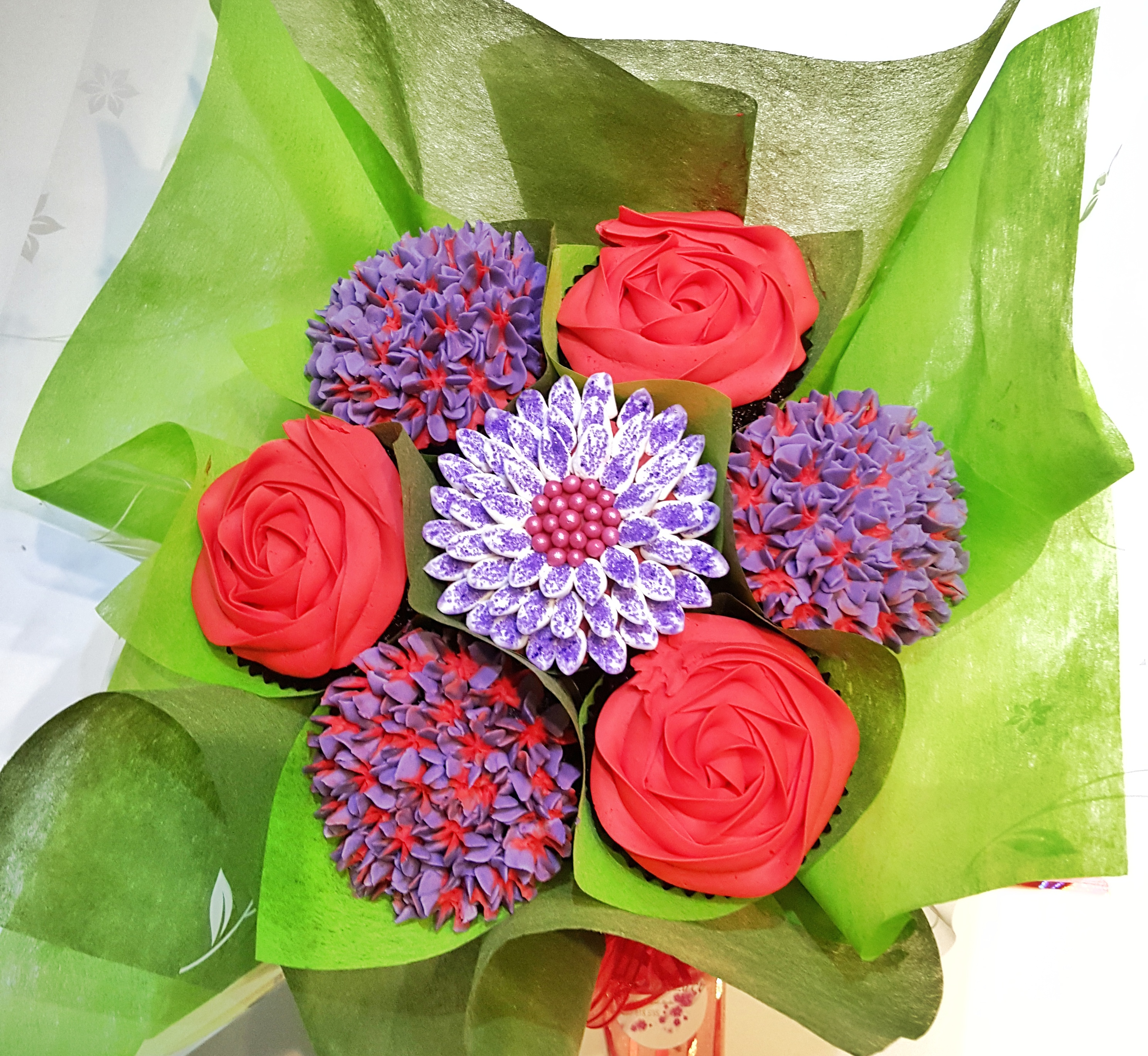 Mixed Blooms - Red & Purple