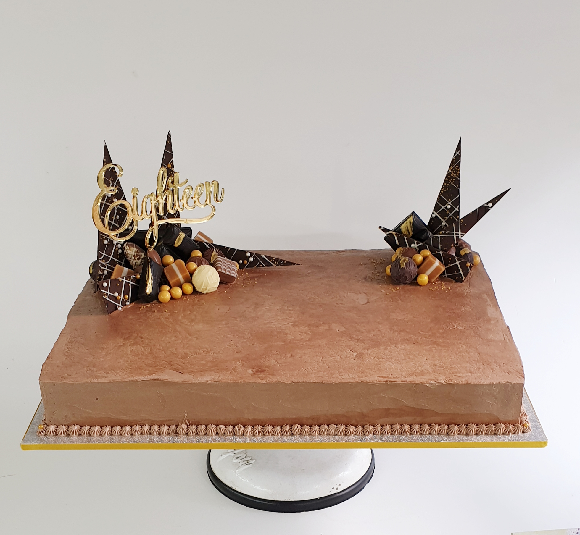 Chocolate Shard Slab