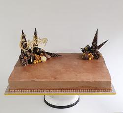 Chocolate Shard Slab