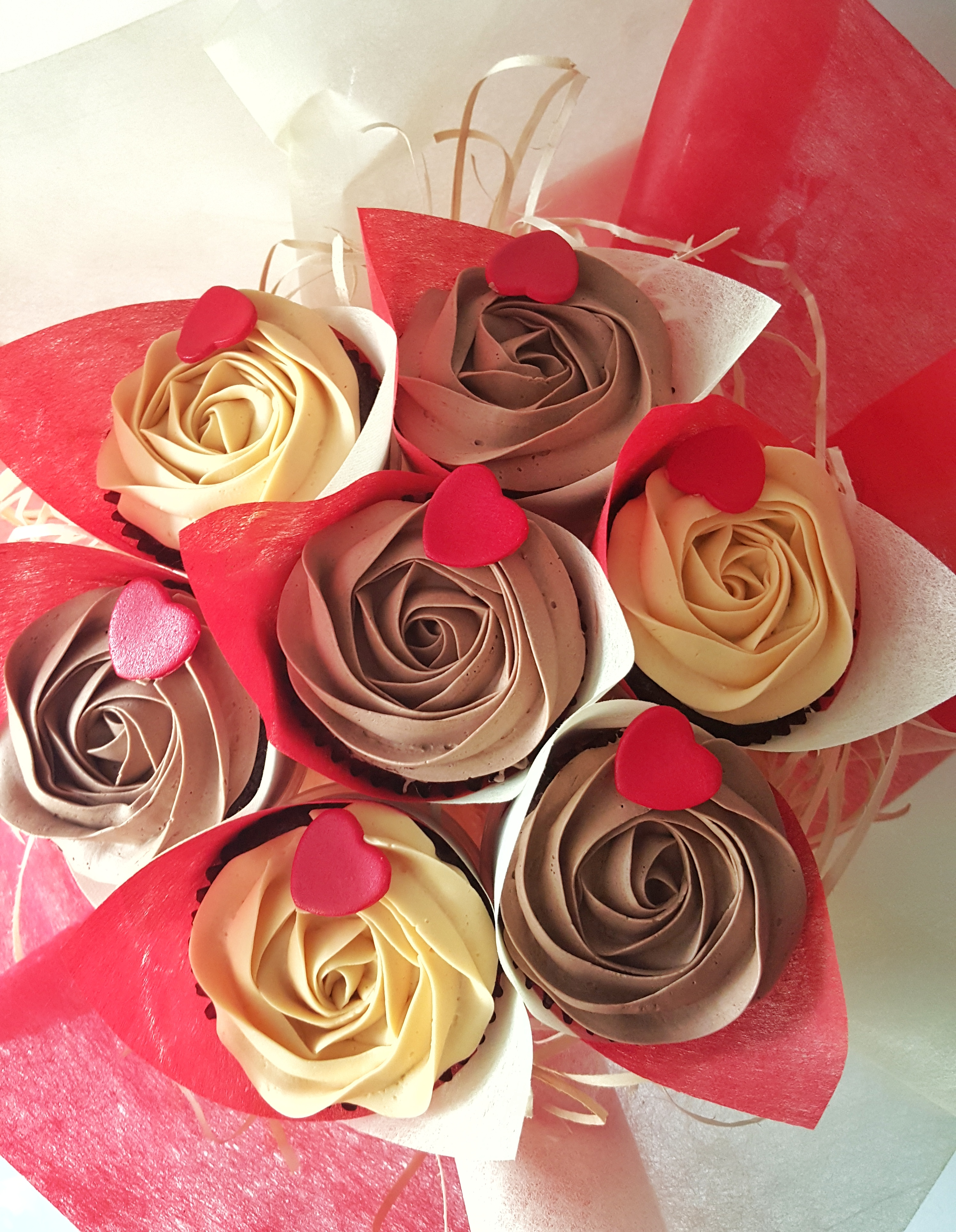Roses - Chocolate & Ivory