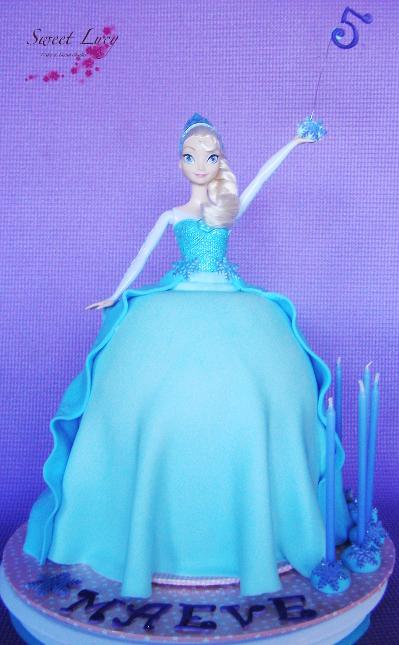 3D Frozen Elsa