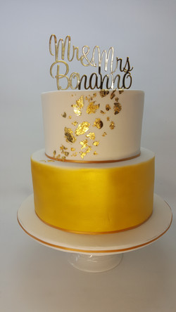 Stunning Gold 2 Tier