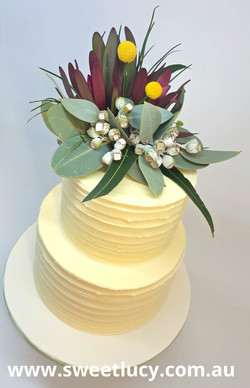Australian Native Buttercream 2 Tier