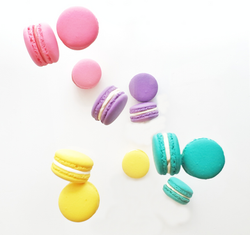 4 Colour Macaron Batch Floating