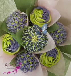 Bouquet purple & Green Top Website