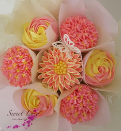 Bouquet Pink & Yellow Top Website