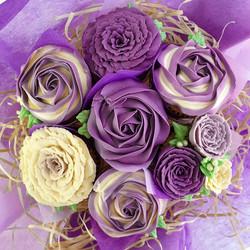 Field of Flowers - Purple & Cream