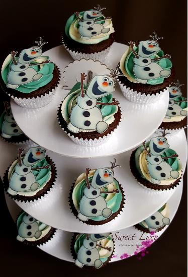 Cupcakes Olaf 2
