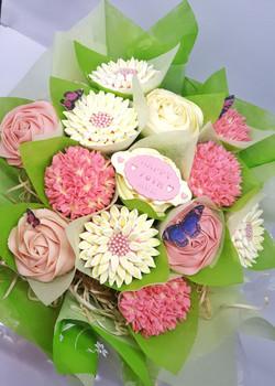 Mixed Blooms - 13 Yellow & Pink
