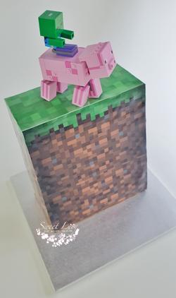 Minecraft Grass Tower