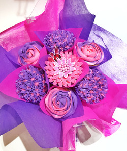 Mixed Blooms - Pink & Purple
