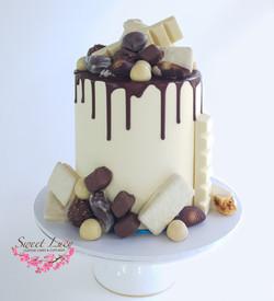White Chocolate Drip
