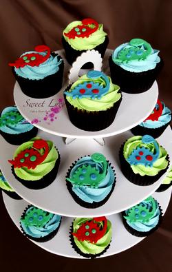 Cupcakes Dinosaurs