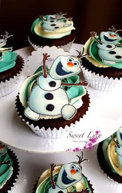 Cupcakes Olaf