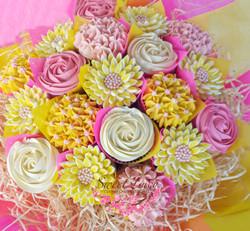 Cream, Yellow & Pink