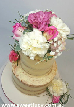 Floral Semi Naked Buttercream 2