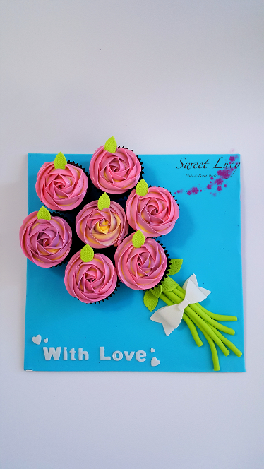 Cupcake Bouquet Board