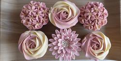 Mixed Blooms - Pink & Cream