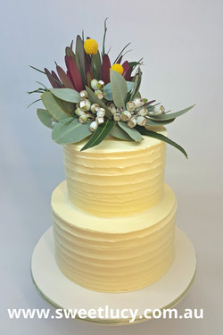 Australian Native 2 Tier Buttercream