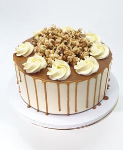 Caramel Popcorn Dessert