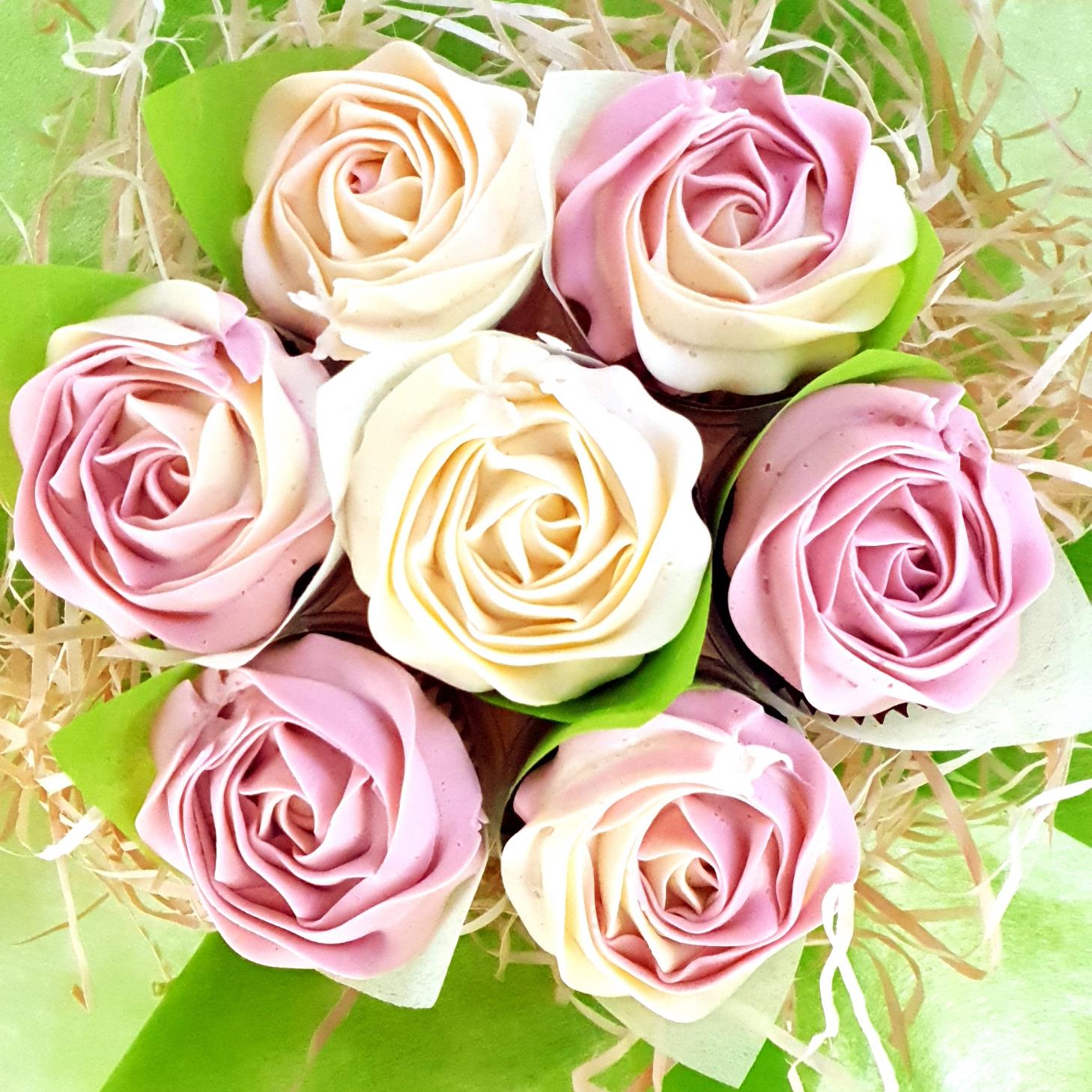 Roses - Pink & Cream