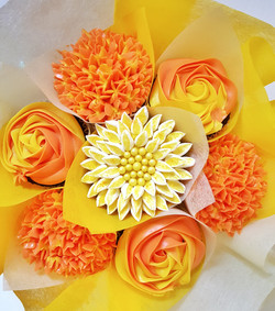 Mixed Blooms - Orange & Yellow