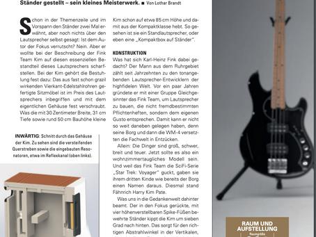 FinkTeam Kim: Audio Magazine review (in German)