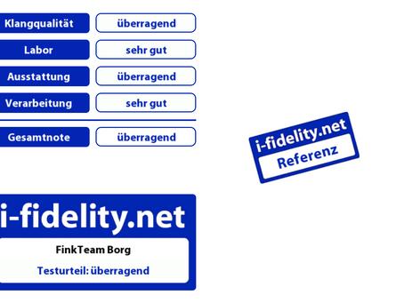 i-fidelity Borg Review - Reference speaker!