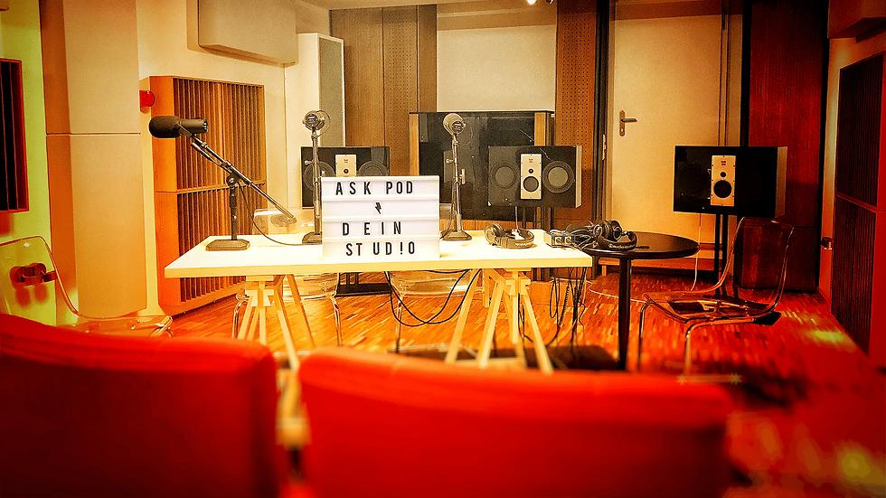 ASK Berlin Podcast Studio