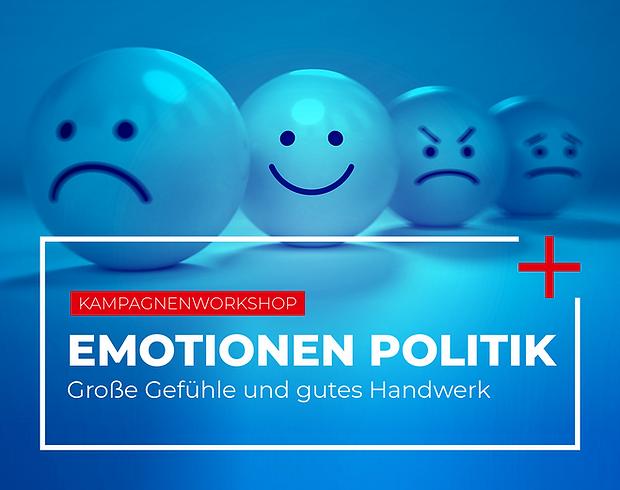 """Friedrich-Ebert-Stiftung Kampagnenworkshop """"Emotionen und Politik"""""""