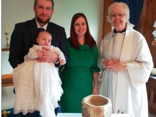 Baptism at St Peter's