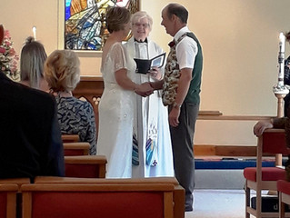 Wedding at St Peter's