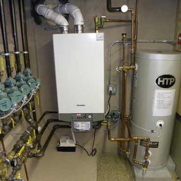 HIGH EFFICENCY BOILER AND WATER HEATER UPGRADE
