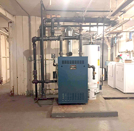 STEAM HEAT SYSTEM REPAIR AND UPGRADE
