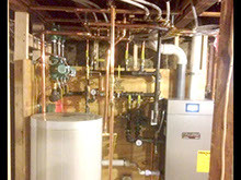 OIL TO GAS CONVERSION AND HIGH EFFICIENCY UPGRADE