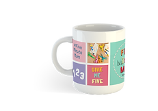 5MM - Coffee Mug Mock-Up - With Smart La