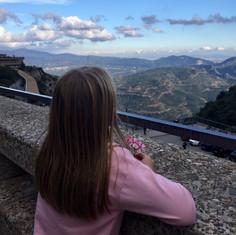 Montserrat, overlooking Barcelona, Spain