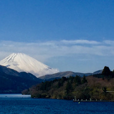 Mt. Fuji, View from Lake Ashi, Japan