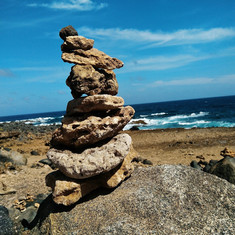 Wishing Rocks, North Shore, Aruba