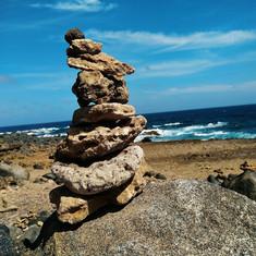 Wishing Rocks, North Shore, Aruba